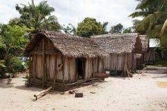 Afryka malagasy budy w Maroantsetra regionie, Madagascar Zdjęcie Royalty Free
