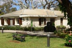 Afryka malownicza wioska Pamplemousses w Mauritius Obrazy Stock