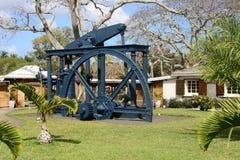 Afryka malownicza wioska Pamplemousses w Mauritius Obraz Royalty Free