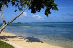 Afryka, malowniczy teren los angeles Pointe Aux Canonniers w Mauritiu Zdjęcia Stock