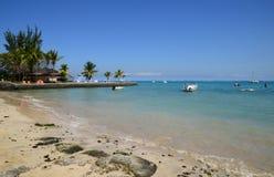 Afryka, malowniczy teren los angeles Pointe Aux Canonniers w Mauritiu Obrazy Royalty Free