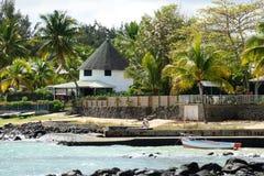 Afryka, malowniczy teren Mont Choisy w Mauritius Zdjęcia Royalty Free
