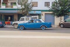 Afryka, Maroko, chefchaouen, wzgórza i dom 2013 Zdjęcia Royalty Free