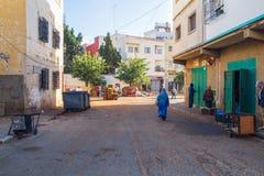 Afryka, Maroko, chefchaouen, wzgórza i dom 2013 Obrazy Royalty Free