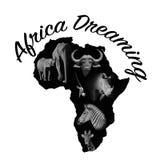 Afryka Marzyć Obraz Stock