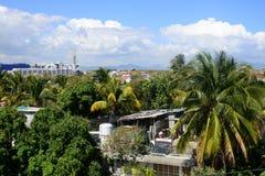 Afryka, miasto wielka zatoka w Mauritius wyspie Obraz Royalty Free