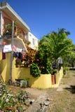 Afryka, miasto wielka zatoka w Mauritius wyspie Zdjęcie Stock