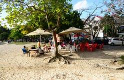 Afryka, miasto wielka zatoka w Mauritius wyspie Obrazy Royalty Free
