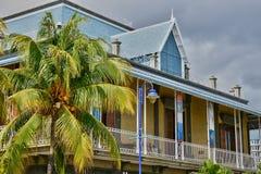 Afryka, Portowy Louis miasto w Mauritius wyspie Fotografia Royalty Free