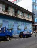 Afryka, Portowy Louis miasto w Mauritius wyspie Zdjęcie Stock