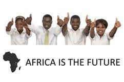 Afrykańscy ludzie biznesu Fotografia Royalty Free