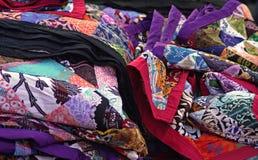 Afrykańscy wzory, tkaniny Zdjęcia Stock