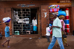 Afryka, Sierra Leone, Freetown Zdjęcia Royalty Free