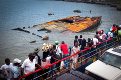 Afryka, Sierra Leone, Freetown Zdjęcie Royalty Free