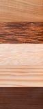 Afrykańska drewniana tekstura Obrazy Stock