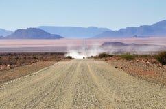 Afrykańska droga w Namibia, Afryka Zdjęcie Stock