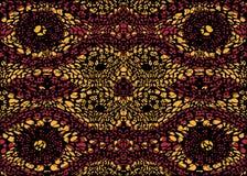 Afrykańska druk tkanina, Etniczny handmade ornament dla, twój projekta, Etnicznych i plemiennych motywów geometrycznych elementów Fotografia Royalty Free