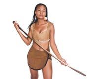afrykańska dziewczyna Fotografia Royalty Free