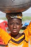 afrykańska dziewczyna Zdjęcia Royalty Free