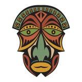 afrykańska etniczna maska Obrazy Royalty Free