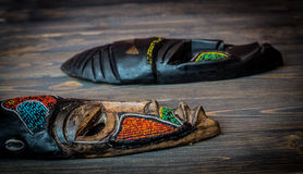 afrykańska etniczna maska Zdjęcia Stock