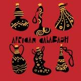 Afrykańska kalabasa Zdjęcia Royalty Free