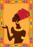 Afrykańska kobieta Zdjęcie Royalty Free