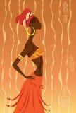 Afrykańska kobieta Obrazy Royalty Free