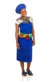 Afrykańska kobieta tradycyjna zdjęcie royalty free