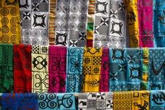 Afrykańska moda odziewa Zdjęcia Royalty Free