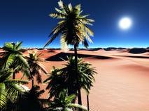 Afrykańska oaza Obraz Royalty Free