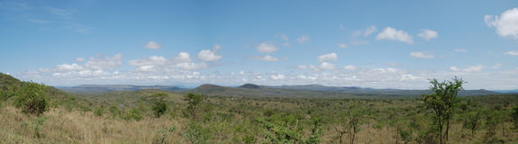 afrykańska panorama Obraz Stock