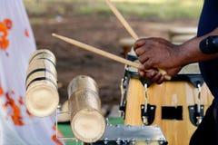 Afrykańska perkusja Zdjęcia Stock