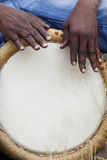 Afrykańska perkusja Fotografia Royalty Free