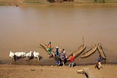 Afrykańska rzeka Obraz Royalty Free