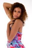afrykańska target1772_0_ kobieta Obraz Stock