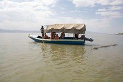 Afrykańska turystyka Fotografia Royalty Free