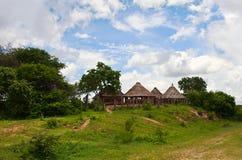 afrykańska wioska Obrazy Royalty Free