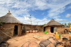 afrykańska wioska Zdjęcie Stock
