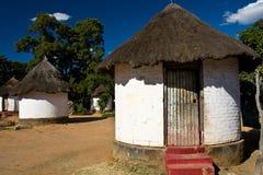 afrykańska wioska Fotografia Stock