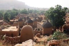 afrykańska wioska Zdjęcia Royalty Free