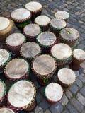 Afrykański bongo na ulicie Obrazy Royalty Free