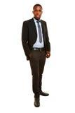 Afrykański business manager Zdjęcia Stock