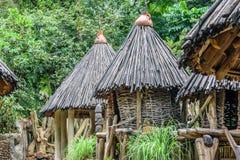 afrykański chaty Fotografia Stock