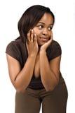 afrykański dziewczyna Fotografia Royalty Free