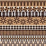 afrykański etniczny wzór Obrazy Royalty Free