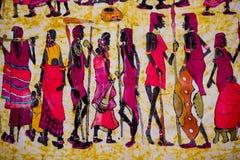 Afrykański fabrick Zdjęcie Royalty Free