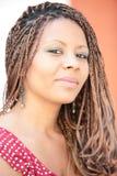 afrykański ja target1216_0_ dziewczyny Zdjęcia Stock