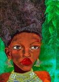 afrykański kobieta Zdjęcia Stock