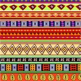 Afrykański kolorowy wzór Zdjęcie Stock